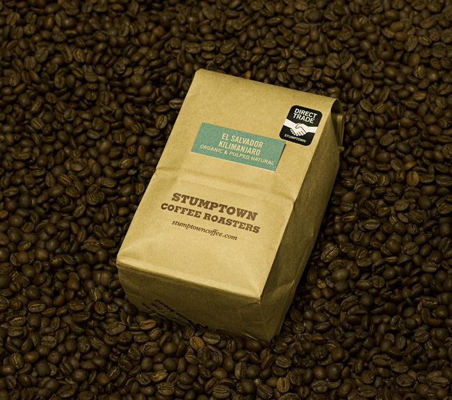stumptown bag in beans